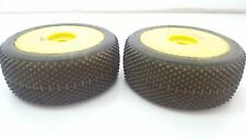 Used 1/8 Jconcepts 3034 Subculture 4WD Buggy Wheels & Tyres Pair