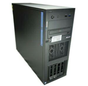 Lenovo ThinkSystem ST250 Tower 4B 3.5 Xeon E-2136 3.3GHz 6C 8GB No HD 7Y45A02PNA