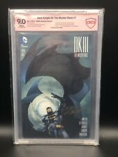Dark Knight Master Race #1 DK III Neal Adams Signed DCBS Variant cover CBCS 9.0