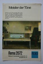 originale Werbung Gebrauchsanleitung DDR Rema2072 Decoder R30 (3)