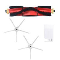 Roller&Side Brushes Kit For Roborock S5 S6 T6 E2 E35 Vacuum Cleaner Spare Parts