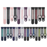 Watch Band Strap Doppelte Farbe Ersatz Silikon Armband For Fitbit Charge 3