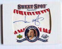 Jason Giambi Authentic Autograph 2001 Upper Deck Sweet Spots Signatures Baseball