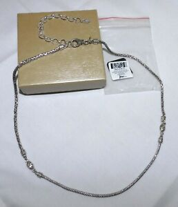 """22"""" SARDA Artisan Collection of Bali Sterling Bali & Snake Chain Necklace NEW"""