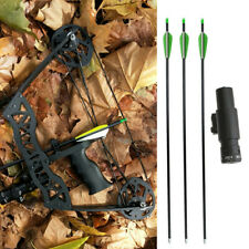 """35lbs Mini Compound Bow Arrow Set 16"""" Hunting Archery Right Left Hand LaserSight"""