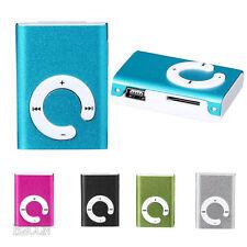 USB Clip MP3 Music Media Player Mini Clip Metal Support 32GB Micro SD TF Card