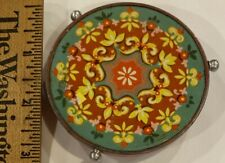 Antique Metal Tray for Food for Doll Houses or Roomboxes