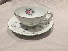 Vintage Harmony House Fine China 3534 Rosebud Cup and Saucer excellent condition