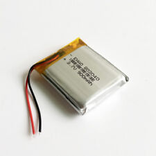 3.7V 900mAh lipo Rechargeable Battery Cells For MP3 Mp4 recorder GPS PSP 803040