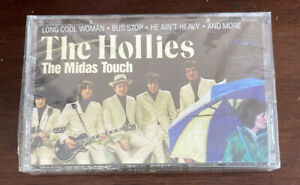 THE HOLLIES The Midas Touch Cassette 1993 Carrie Anne Bus Stop Promised Land NEW