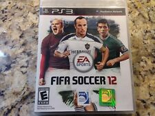 FIFA 12 For PlayStation 3 PS3 Soccer With Manual And Case Very Good