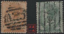 Maltese Stamps -- Malta 1860-1867 Queen Victoria