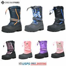 DREAM PAIRS Kids Girls Boys Winter Snow Boots Warm Waterproof Anti-Slip Ski Boot