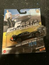 FAST AND FURIOUS FAST DODGE CHARGER OFF ROAD 1:55 SCALE NEW IN BLISTER MATTEL