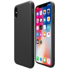 Apple iPhone X 10 NILLKIN TPU Case ETON Series Hybrid Schutz Cover Hülle Schwarz