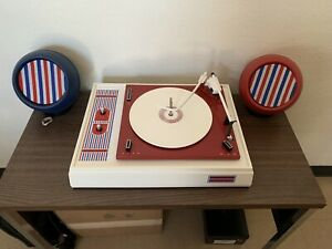 Voice of Music Record Player Model 337 Yankee Doodle Complete