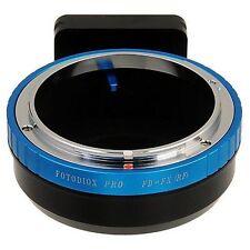 Fotodiox Objektivadapter Pro Canon FD & FL 35mm Linse für Fujifilm X Kamera