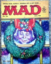 MAD Magazine #44 Jan 1959! FINE! 6.0! $0.99 Start! SUPER TIGHT! BEAUTIFUL Pages!