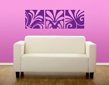 Lily Flowers Decorative Strip  - highest quality wall decal stickers