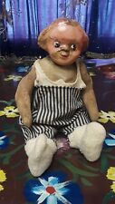 """Campbell Kid Horsman Composition/Cloth Early Doll Circa 1900's 15"""" Tall"""