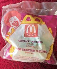 VTG 1995 McDonalds Happy Meal GRIMACE MCTURBO  in ORIGINAL BAG