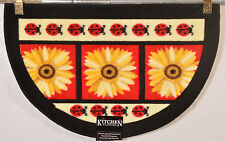 NOURISON LADY BUG  KITCHEN FLARVORS  KITCHEN RUG/MAT 20X30 100% WASHABLE