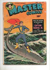 Master Comics #116 Fawcett 1950 SHAZAM! Captain Marvel Jr.! NYOKA VG- 3.5