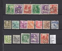STAMPS LOT SWITZERLAND USED (L35704)