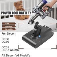 3.0 Ah Li-ion Battery For Dyson SV03 SV04 SV05 SV09 V6 Handheld Vacuum Cleaner