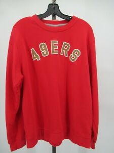 H0094 Nike San Francisco 49ers NFL-Football Pull-Over Sweater Size XL