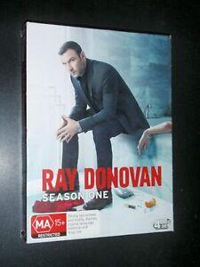 """Ray Donovan : Season 1 (DVD, 2014) Region 4 """"NEW AND SEALED"""""""