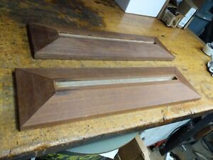 one teak veneer base or stand for photo frame or painting