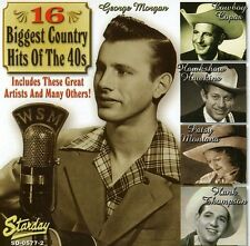 Various Artists - 16 Biggest Country Hits 1940's / Various [New CD]