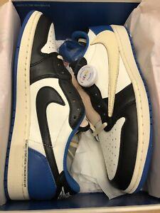 Air Jordan 1 Low x Travis Scott x Fragment DM7866-140 DS US Size 10.5