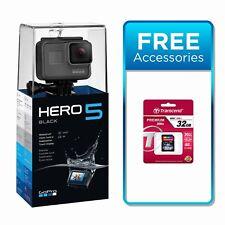 GoPro HERO 5 Black Action Camera - 4K 12MP - Waterproof - WIFI + 32SD