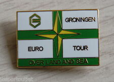 Groningen Euro Tour - Over Land and Sea  pin/speldje
