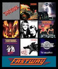 """FASTWAY album discography magnet (4.5"""" x 3.5"""") motorhead ufo humble pie zeppelin"""