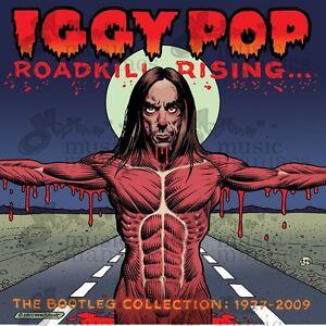 Iggy Pop Roadkill Rising: The Bootleg Collection 1977-2009 4-CD Set Neuf/Scellé