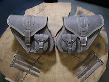 DYNAMITE BROWN Satteltaschen SET Seitentaschen Koffer HD Harley Davidson braun