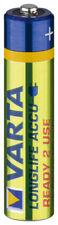2 x Varta Akku Ni-MH Micro (AAA) 56703 (Ready to use) 1,2 V 800mA