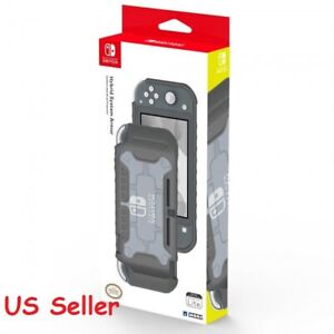 Hori Official Nintendo Switch Lite Hybrid System Armor TPU Case Gray