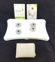 Wii Fit Plus Game With Wii Balance Board With Cover /Tested and Works Wii Fit