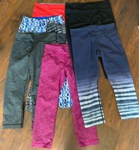 Under Armour Calvin Klein Capri Tight Yoga Running Women's Leggings Lot 7pc Med