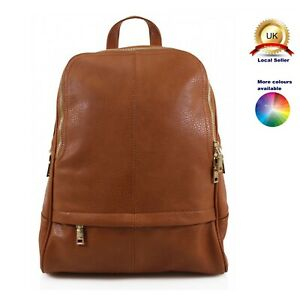 Backpack Fashion Woman Girl Suitable S-Medium size Faux Leather