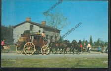 Stage Coach, Upper Canada Village, Schoolmaster's House (unused(horseG#27