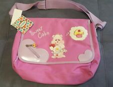 CARE BEARS SWEET CAKES 2005 FAB STARPOINT MESSANGER  BAG