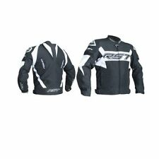 Blousons blancs textiles longueur taille pour motocyclette