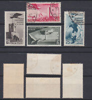 ITALY 1934 Football World Cup Airmail Mint/Used  Sc.C62-C65 (Sa.A69/A72)