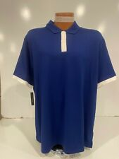 Nike Dry Vapor Solid Golf Polo Shirt Men's XL Blue BV6850 492 New MSRP $65