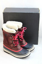 New SOREL Size 7 M Redwood Winter Carnival Women's Winter Boots RETAIL $130